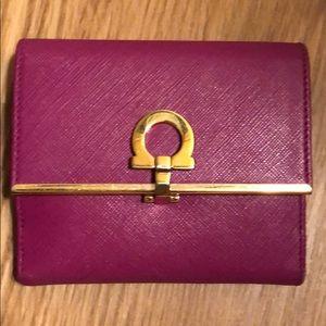Ferragamo leather wallet
